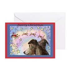 Sleigh flight Greeting Cards (Pk of 20)