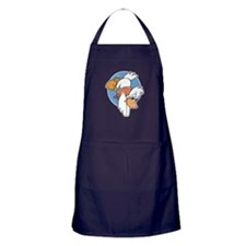 Diving Duck Apron (dark)