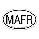 MAFR Magnificent Frigatebird Alpha Code Sticker (O