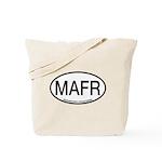 MAFR Magnificent Frigatebird Alpha Code Tote Bag