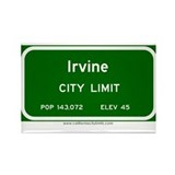 Irvine Rectangle Magnet (10 pack)