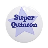 Super Quinton Ornament (Round)