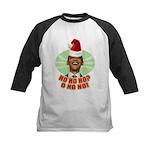 Ho Ho Ho? Obama No No No! Kids Baseball Jersey