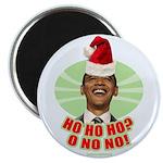 "Ho Ho Ho? Obama No No No! 2.25"" Magnet (10 pa"