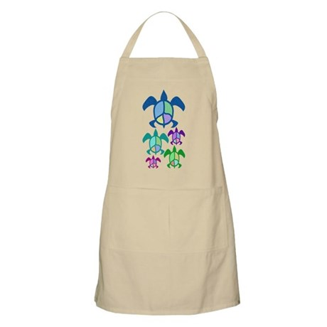 Peace Sea Turtle Apron