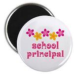 Floral School Principal Magnet