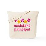 Floral School Principal Tote Bag