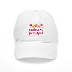 Floral School Principal Cap