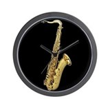 Cute Saxophone Wall Clock