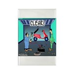 CLEAR! (Scooter) Rectangle Magnet (10 pack)