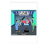 CLEAR! (Scooter) Postcards (Package of 8)