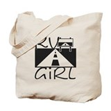 RV Girl Tote Bag
