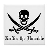 Griffin the Horrible Tile Coaster