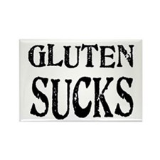 Gluten Sucks Rectangle Magnet (100 pack)