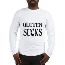 Gluten Sucks Long Sleeve T-Shirt
