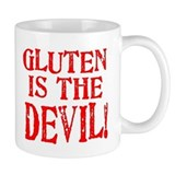 Gluten Is The Devil Small Mug