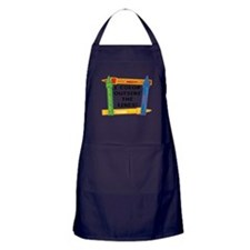 Color Outside The Lines Apron (dark)