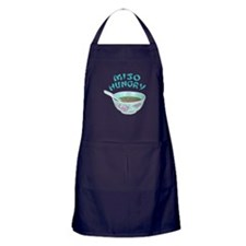 Miso Hungry Apron (dark)
