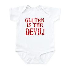 Gluten Is The Devil Onesie