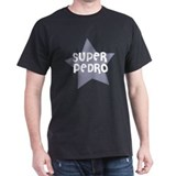 Super Pedro Black T-Shirt