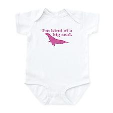 Big Deal Seal Pink Infant Bodysuit