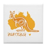 AUSTRALIA Tile Coaster