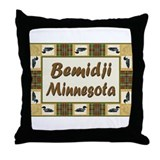 Bemidji Loon Throw Pillow