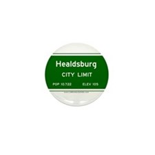 Healdsburg Mini Button (10 pack)