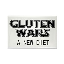 Gluten Wars: A New Diet Rectangle Magnet (10 pack)