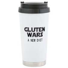 Gluten Wars: A New Diet Ceramic Travel Mug