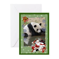 Giant Panda Bear Greeting Cards (Pk of 10)