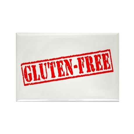 Gluten Free Stamp Rectangle Magnet (10 pack)