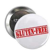 "Gluten Free Stamp 2.25"" Button (100 pack)"