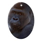 Gorilla Oval Ornament
