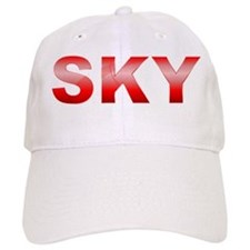 Red SKY Baseball Cap