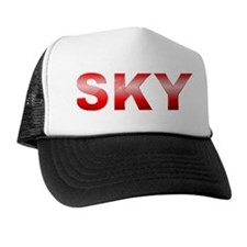 Red SKY Trucker Hat