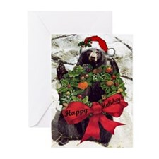 Holiday Bear Greeting Cards (Pk of 10)