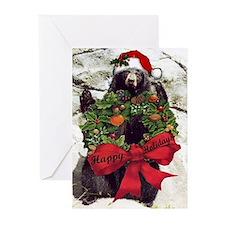 Holiday Bear Greeting Cards (Pk of 10)