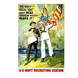 The Navy Needs You! Postcards (Package of 8)