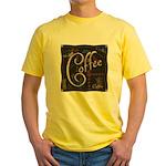 Coffee Mocha Yellow T-Shirt
