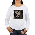 Coffee Mocha Women's Long Sleeve T-Shirt