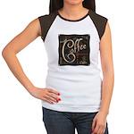 Coffee Mocha Women's Cap Sleeve T-Shirt