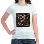 Coffee Mocha Jr. Ringer T-Shirt