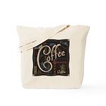 Coffee Mocha Tote Bag