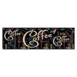 Coffee Mocha Bumper Sticker (50 pk)
