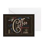 Coffee Mocha Greeting Cards (Pk of 20)