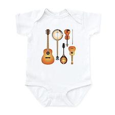 String Instruments Onesie