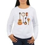 String Instruments Women's Long Sleeve T-Shirt