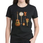 String Instruments Women's Dark T-Shirt