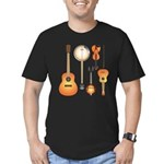 String Instruments Men's Fitted T-Shirt (dark)